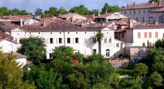 Hôtel particulier – Terrasses – Pierres – Jardins – Montpezat de Quercy – REF 0355