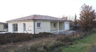 Maison neuve – Plain-pied – Orientée Sud – Au calme – 9 km de Caussade – REF 1385