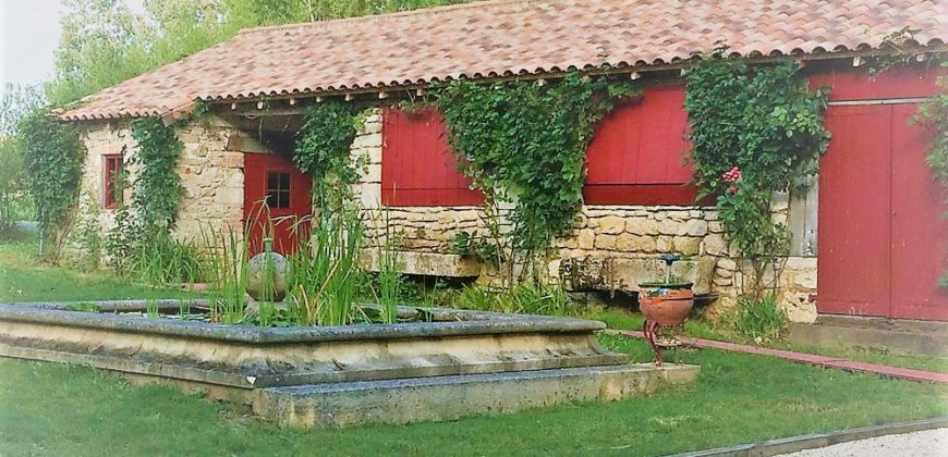 Moulin avec dépendances – Entièrement rénovés sur 1,6ha – Caussade – REF 1343