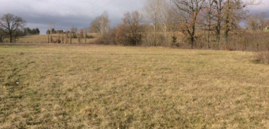 // PAS DE REFERENCE // Terrain constructible – Viabilisé – 2 800 m² – Cayriech