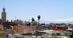 Dar à Marrakech – 2 mn de Jemaa El Fna – REF 0959