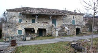 Moulin rénové – 4ha – 25 km Nord Caussade – REF 0647
