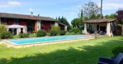 Bien de Prestige – Lauragaise – 20 mn de Toulouse – de 500 m² au bord du canal – REF DM 01