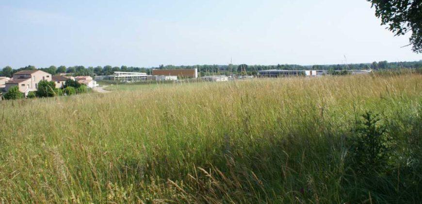 Caussade proche du centre – Terrain 2450 m² plat avec vue – REF 1316