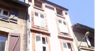 Montauban centre – Immeuble – 3 apts loués – REF 1496