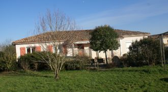 Maison récente de type 5 – Bioule – Plain pied – Terrain 2000 m²- REF 1469