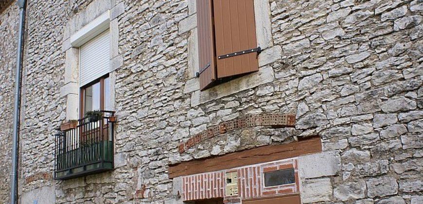 Maison de ville en pierre – Septfonds – Rénovée en partie – REF 1501