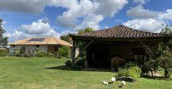 Moulin- et grange-rénovés sur 7716 m²- lieu calme de repos-12 km Caussade-ref 1489