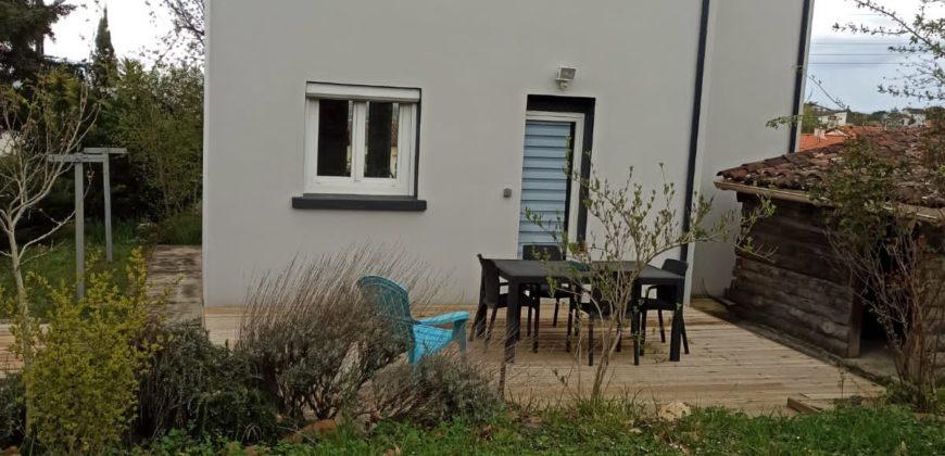 Maison-rénovée- Beaumont de Lomagne-Type 4 – terrain 600 m² -ref 1628