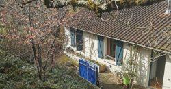 St Antonin-maison avec très belle vue-rénovée- place de parking- sous sol- T4-possibilité création gîte-REF 1623