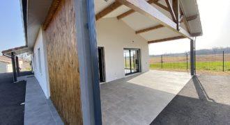 Entre Toulouse et Montauban Villemur_ Maison neuve de 101 m²-terrain 1100 m² divisible-ref 1619