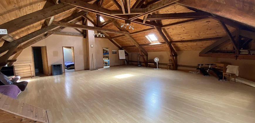 Ancienne ferme templière  a 20 mn de Montauban 20 mn Caussade  Gîte pour plus de 15 pers belle vue calme piscine ref 1624
