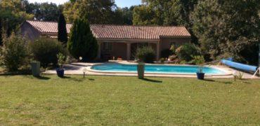 Belle villa de plain-pied à 3mn du centre Caussade REF: 1667